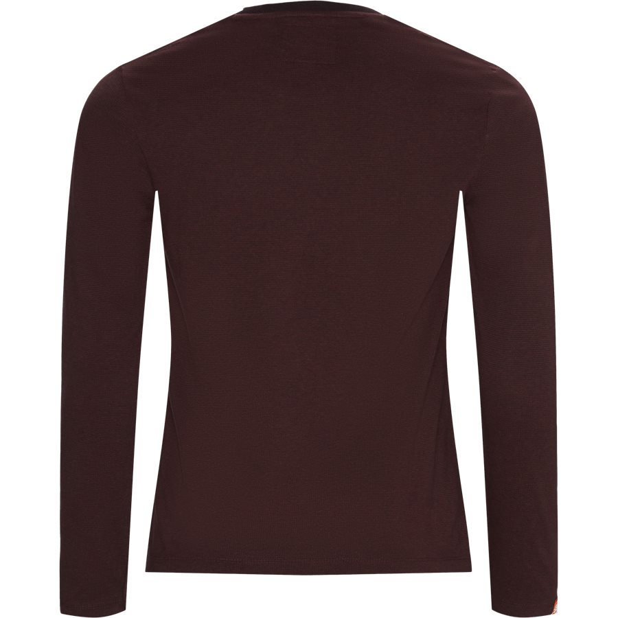 M6000 - M6000 LS Tee - T-shirts - Regular - BORDEAUX R6R - 2